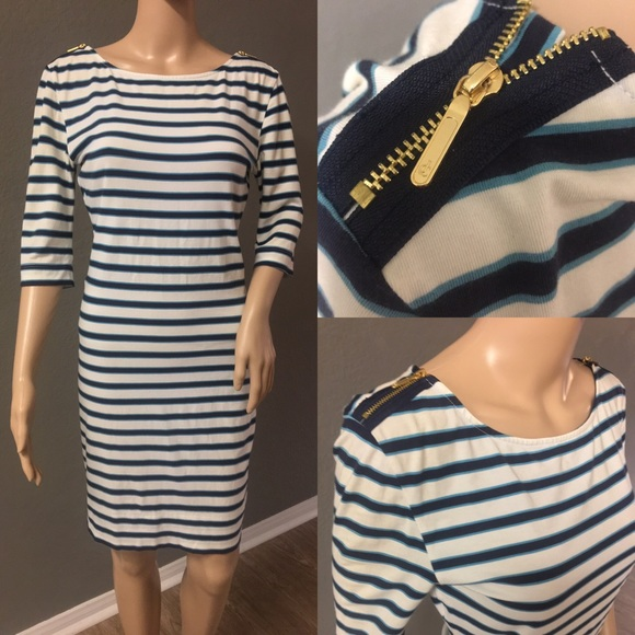 Juicy Couture Dresses & Skirts - Stripped Cotton Juicy Couture Dress - Pristine
